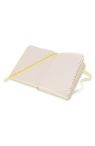 Moleskine Classic collection hard cover ruled notebook Yellow