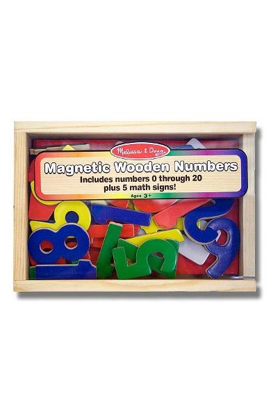 Number magnets. Cifre magnetice