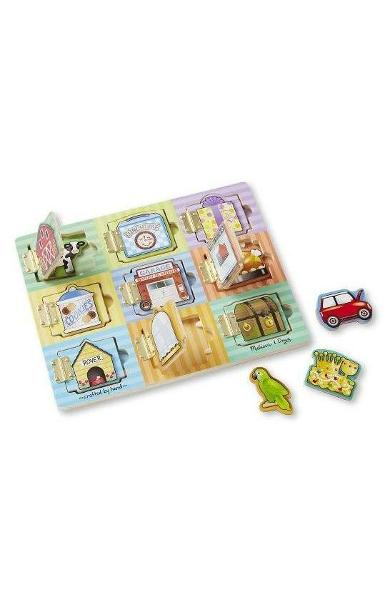 Hide and seek board. Joc magnetic, Ascunde si gaseste