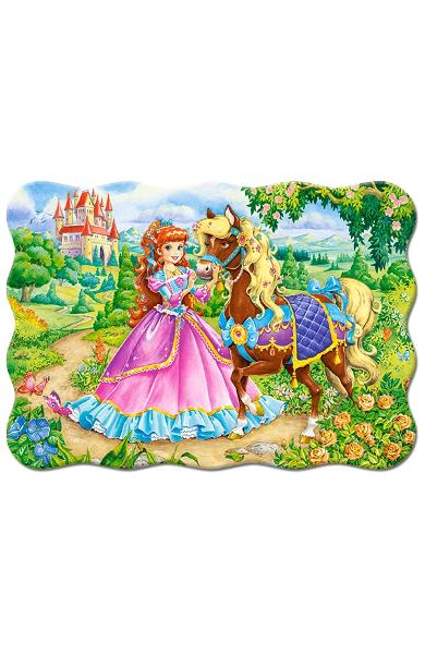 Puzzle 30. Princess and her Horse