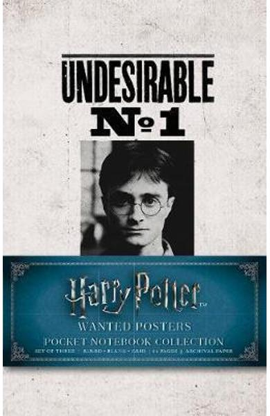 Harry Potter: Wanted Posters Pocket Journal Collection