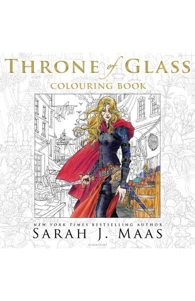 Throne of Glass Colouring Book