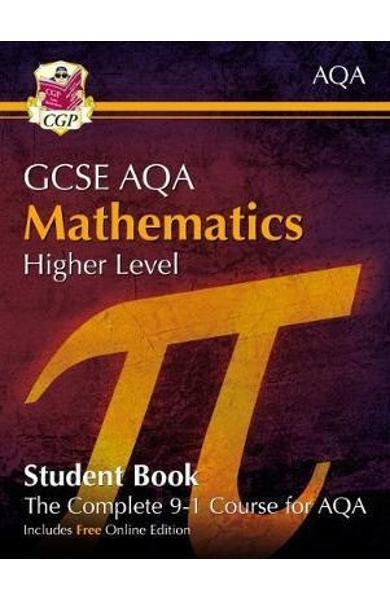 New Grade 9-1 GCSE Maths AQA Student Book - Higher (with Onl