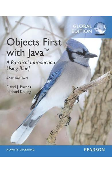 Objects First with Java: A Practical Introduction Using Blue