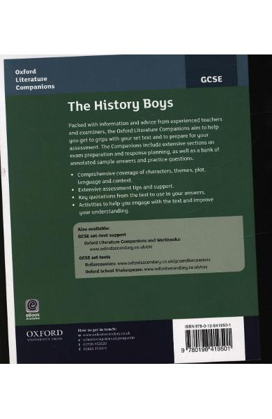 Oxford Literature Companions: The History Boys