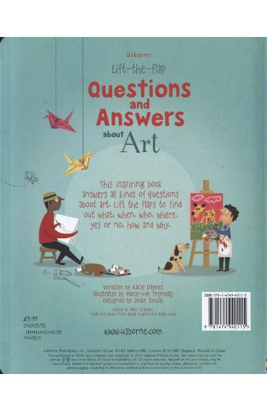 Lift the Flap Questions & Answers About Art
