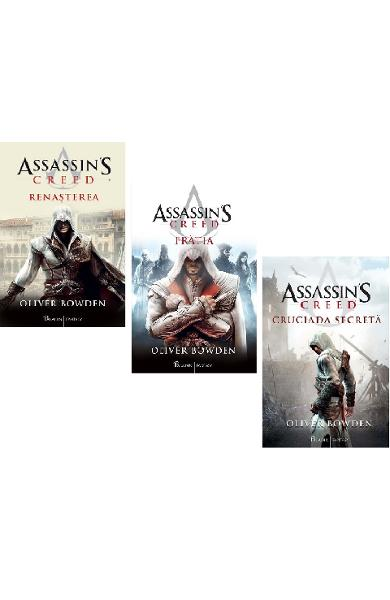 Set Assassin's Creed 1+2+3 - Oliver Bowden