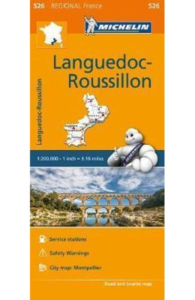 Languedoc Roussillon Map 526