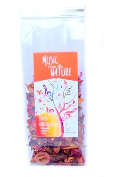 Ceai Music - Jazzy Chocolate 50 Gr - Tea Garden