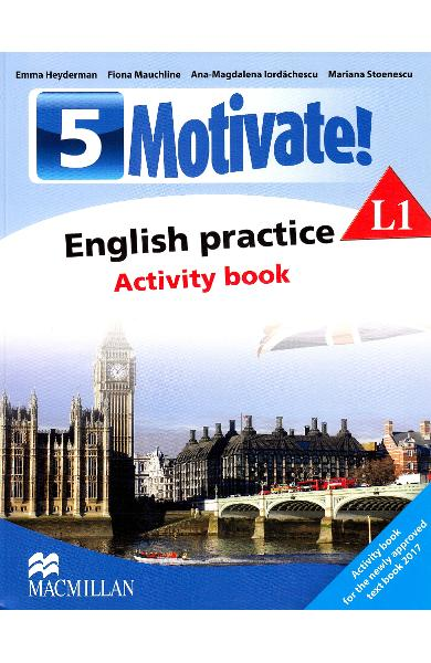 Motivate! English practice L1. Activity book. Lectia de engleza - Clasa 5 - Emma Heyderman