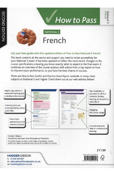 How to Pass National 5 French: Second Edition