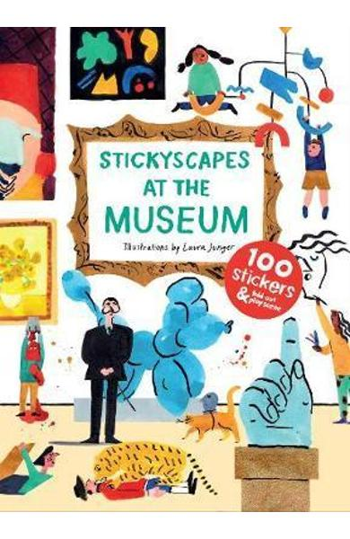 Stickyscapes at the Museum