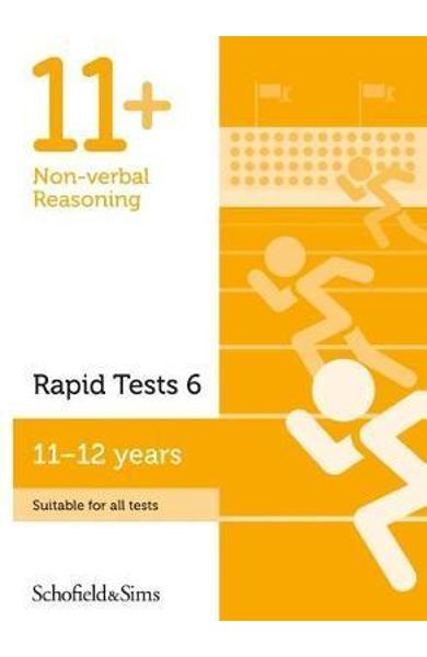 11+ Non-verbal Reasoning Rapid Tests Book 6: Year 6-7, Ages
