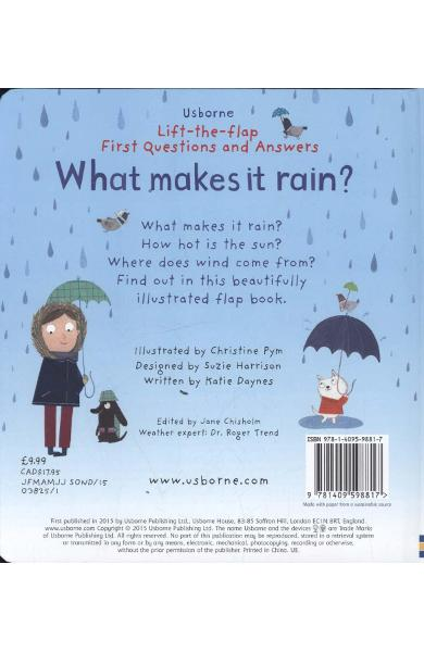 Lift-the-Flap First Questions and Answers What Makes it Rain