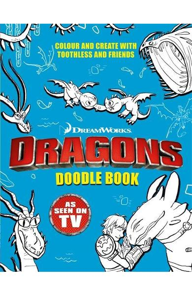 Dragons: Doodle Book