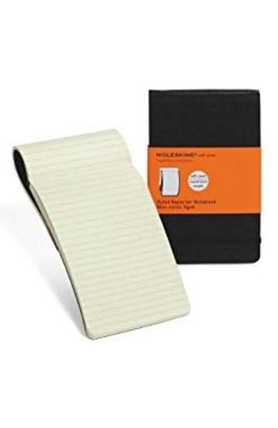 Moleskine Soft Cover Pocket Ruled Reporter Notebook