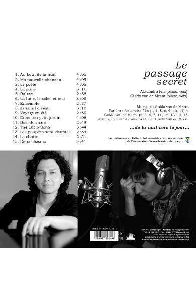 CD Alexandra Fits & Guido Van de Meent - Le passage secret