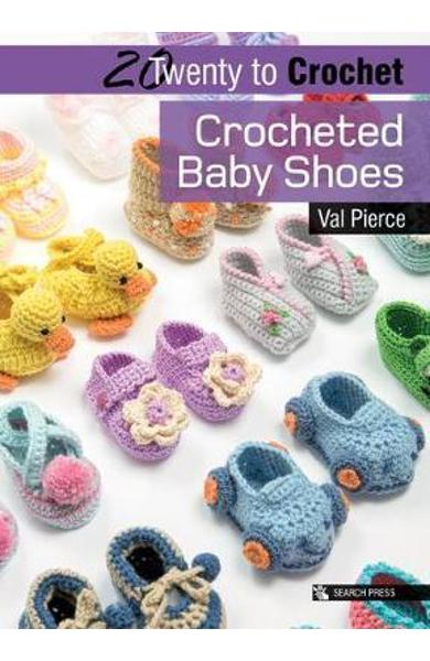 Twenty to Make: Crocheted Baby Shoes