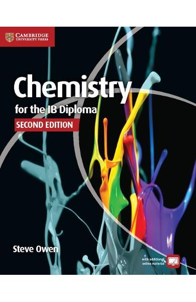 Chemistry for the IB Diploma Coursebook with Free Online Mat