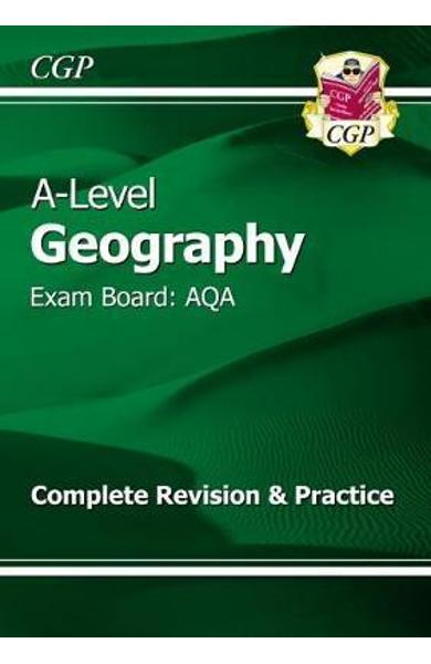 New A-Level Geography: AQA Year 1 & 2 Complete Revision & Pr