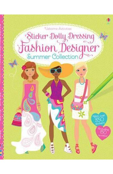 Sticker Dolly Dressing Fashion Designer Summer Collection