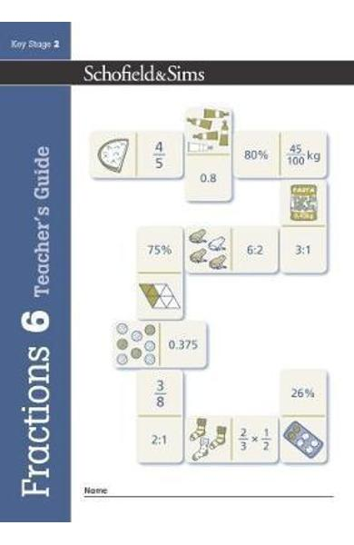 Fractions, Decimals and Percentages Book 6 Teacher's Guide (