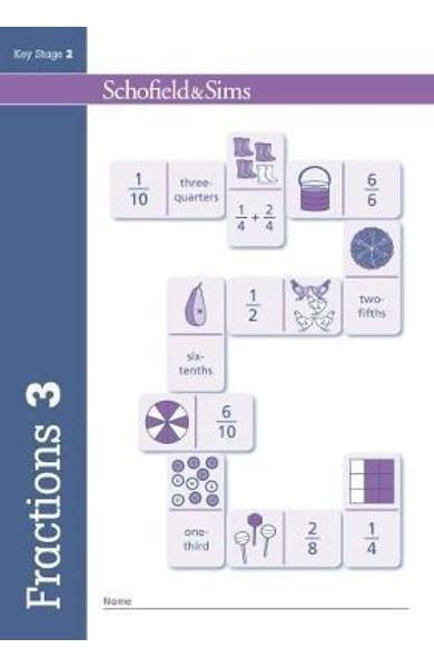 Fractions, Decimals and Percentages Book 3 (Year 3, Ages 7-8