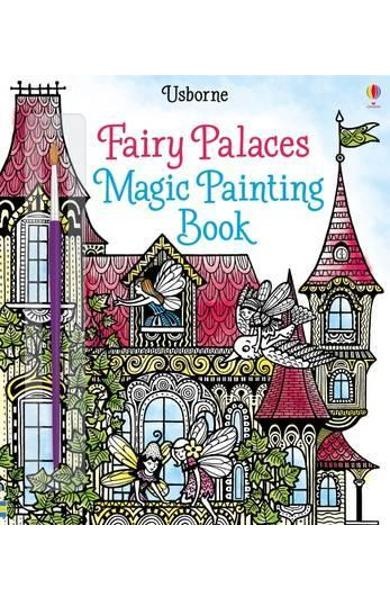 Fairy Palaces Magic Painting Book