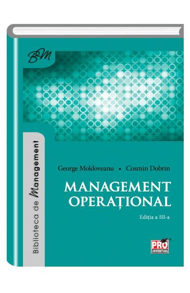 Management operational - George Moldoveanu, Cosmin Dobrin