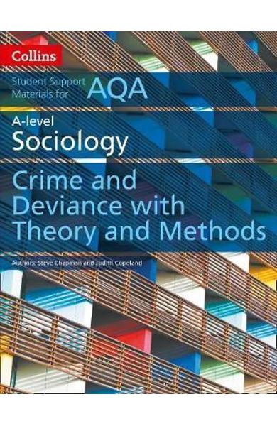 AQA A Level Sociology Crime and Deviance with Theory and Met