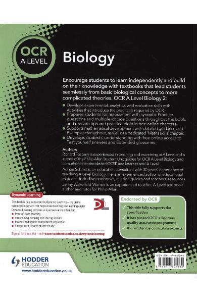 OCR A Level Biology Student