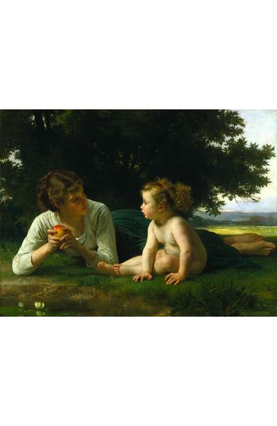 Puzzle 1000 William-Adolphe Bouguereau - Temptation