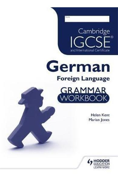 Cambridge IGCSE and International Certificate German Foreign