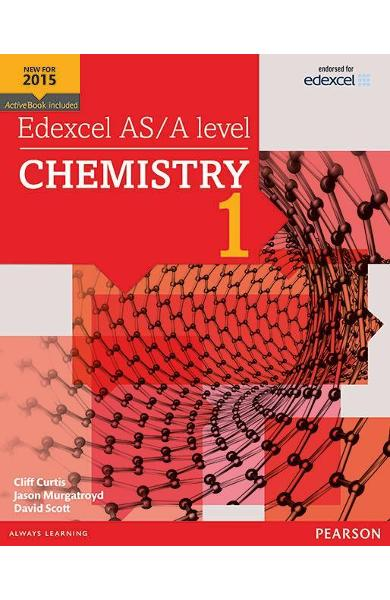 Edexcel AS/A Level Chemistry Student Book 1 + Activebook