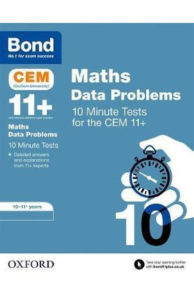 Bond 11+: CEM Maths Data 10 Minute Tests