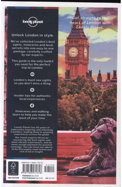 Lonely Planet Best of London 2019