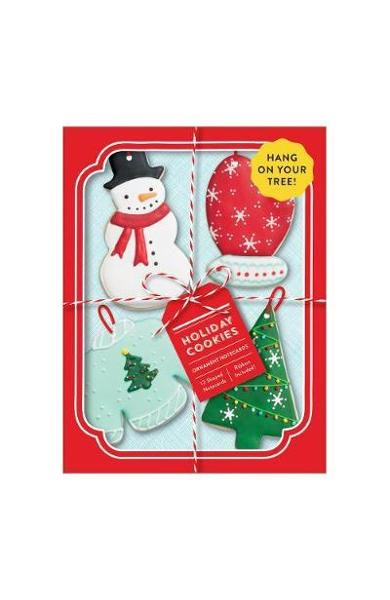 Holiday Cookies Shaped Notecard Portfolio