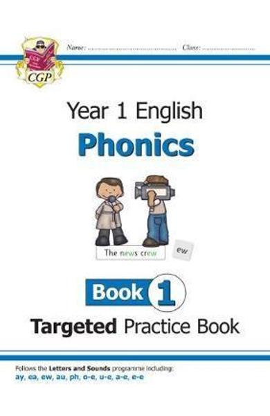 New KS1 English Targeted Practice Book: Phonics - Year 1 Boo