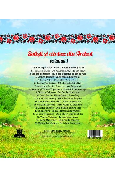 CD Solisti Si Cantece Din Ardeal Volumul 1 (CD Plic)