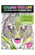 Colour Therapy, Amazing Animals. Carte de colorat antistress, Animale uimitoare