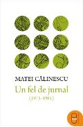 eBook Un fel de jurnal 1973-1981 -  Matei Calinescu
