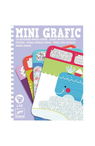 Mini Grafic. Coloriages Doodles. Junior