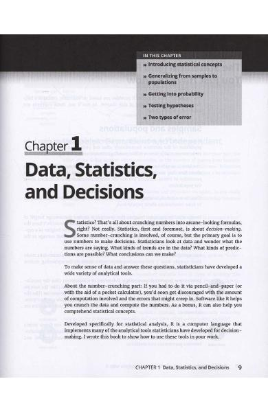 Statistical Analysis with R For Dummies