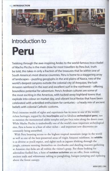Rough Guide to Peru