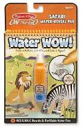 Water Wow! Carnet de colorat, Apa magica. Safari