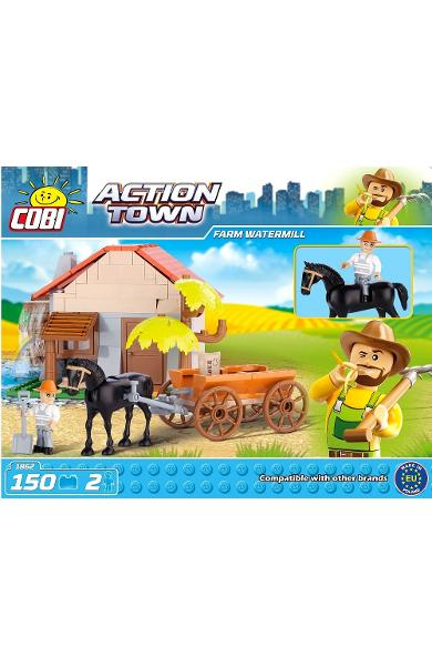 Action Town. Farm watermill. Ferma - moara de apa