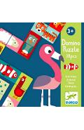 Domino Puzzle, Animaux. Animale